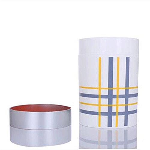 GAOLILI Trash Fashion créative en plastique poubelles stockage Bar cuisine salon chambre poubelle peut ( Couleur : Blanc )