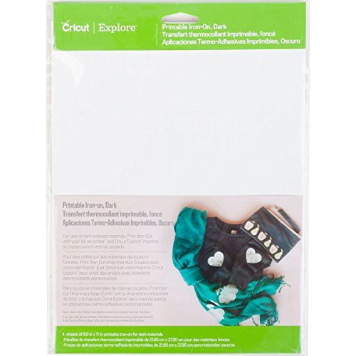 Cricut 2002745 Printable Iron-On for Scrapbooking, Dark