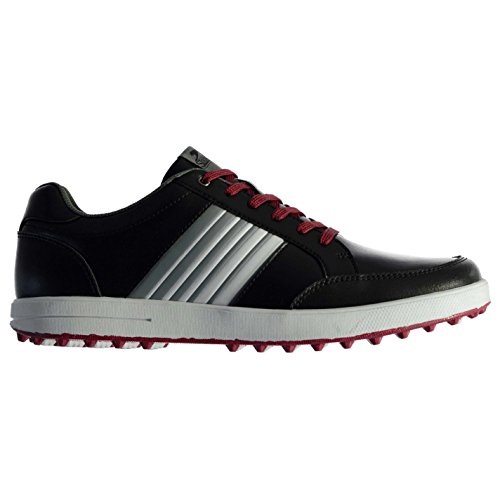Slazenger Homme Casual Chaussures De Golf À Lacets Couleur Contrast Rembourré 43