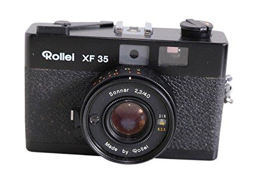 Rollei XF 35 Kamera - Sonnar 2,3/40 in schwarz
