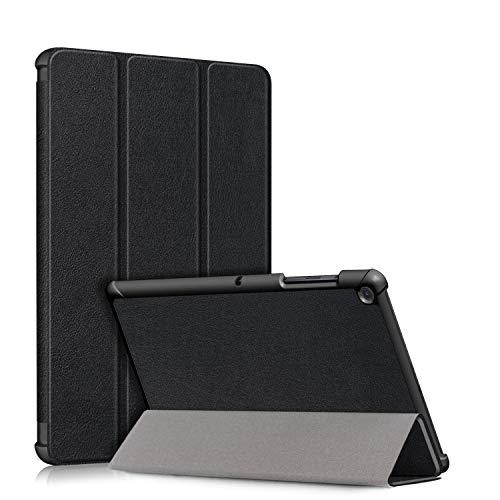 topCASE Funda Protectora para Samsung Galaxy Tab S5e 10.5 Pulgadas SM - T720 T725 2019 Carcasa,Ultra Delgado Stand Función Smart Cover Auto-Sueño/Estela,Negro