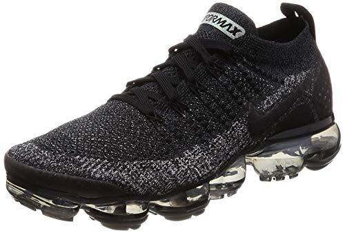 Nike Men's Air Vapormax Flyknit 2, Black/Black-Dark Grey, 8 M US