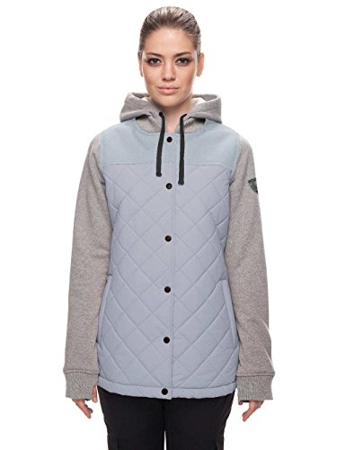 686 Damen Herbst Isolierte Jacke XS Light Blue Denim