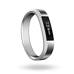 Fitbit Alta, Accessory Band, Metal Bracelet, Silver, small