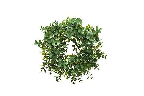 Heitmann Deco Kranz - Deko - Blätter - Weihnachten - Ostern - Frühling - grün - Duchmesser: ca. 25 cm