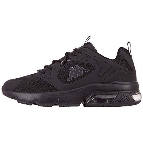 Kappa Heren 243003-111_42 Sneakers, zwart, EU