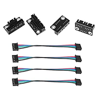 Befenybay 4pcs Dual Z Stepper Motor Parallel Module with 100mm Cables for 3D Printer Parts and Accessories