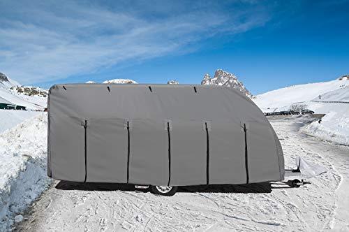Aequator Schutzhülle für Wohnwagen, 600-650cm
