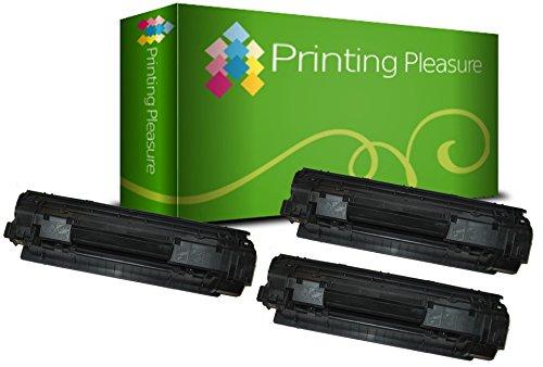 3 Toner Compatibili Canon 712 Cartuccia Laser per Canon LBP-3010 LBP-3100 LBP-3018 LBP-3108 LBP-3050 LBP-3150 - Nero, Alta Resa