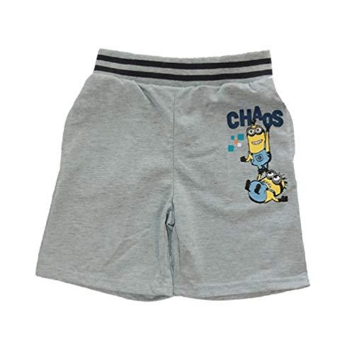 Minions Bermuda Kurze Hose Shorts Grau, Größe:128