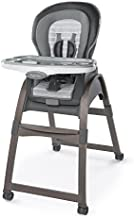 Ingenuity Boutique Collection 3-in-1 Wood High Chair, Bella Teddy - High Chair, Toddler Chair, and Booster