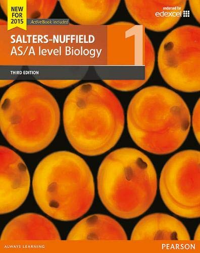 Salters-Nuffield AS/A level Biology Student Book 1 + ActiveBook...