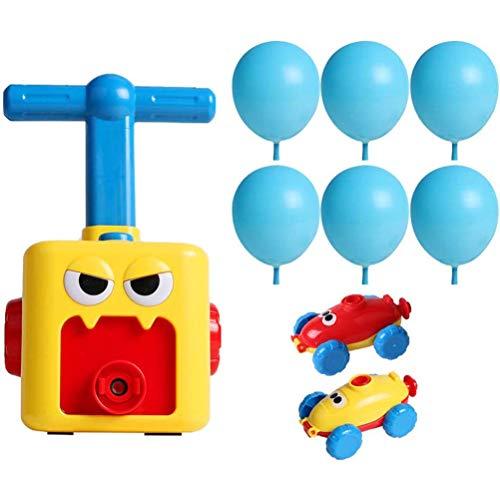 Uyuke Trägheit der Kinder Macht Ballon-Auto-Wissenschafts-Auto-Baby-Spielwaren-Kindergeschenk mit Ballon-frühen pädagogischen Geschenken