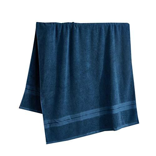 AOIWE Toalla de baño de algodón, toalla de baño grande, ultra suave y altamente absorbente para baño, hotel, spa, cuerpo, pelo, cara, gimnasio, piscina, yoga