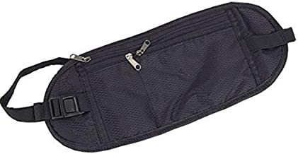 Kaptin Multi-Functional Ultra-Thin Hidden Security Pouch Travel Pouch Wallet Waterproof Close-Fitting Invisible Sports Waistband Money Belt
