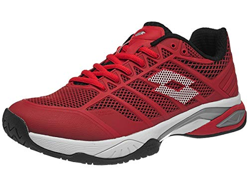 Lotto Men's Tennis Shoes, Red Red SPN Wht 000, US:7
