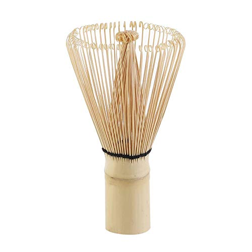 yyuezhi Batidor de te Para Preparar Polvo de Matcha Herramientas de Pincel Matcha Colador de Te de Bambu Natural Batidor de Bambu Matcha Batidor de Matcha Hecho a Mano Tradicional 1 Piezas