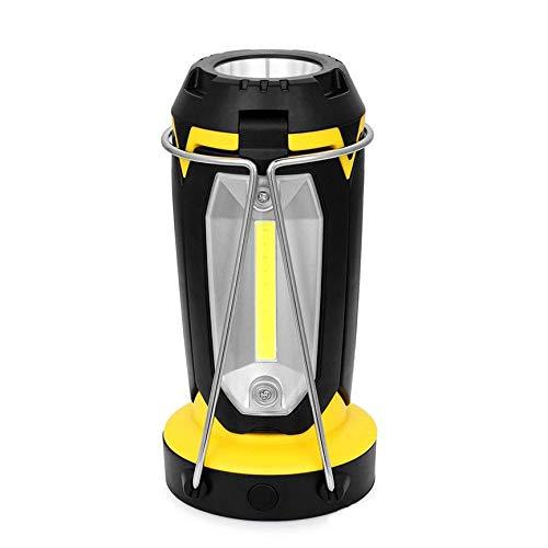 Peanutaoc - Luz de camping impermeable para coche de viaje, luz de tienda de campaña, carga USB XHL-10