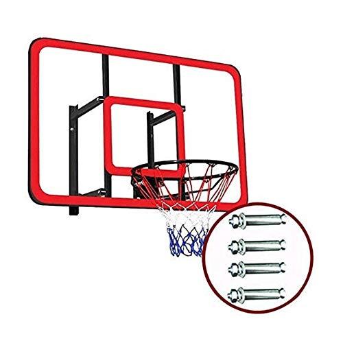 Wall Mounted Basketball Hoop Set Mini Basketball Hoop Hook ON & CLAMP ON for Indoor/Outdoor Trampoline, Pontoon, Bedroom, Camping, Tailgating, Beach, Bunkbed, Office
