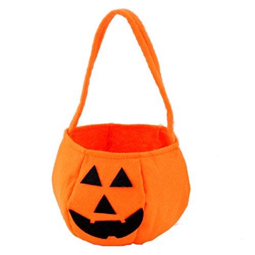 Halloween Smile Kürbis Tasche Kids Candy Bag Kinder Tasche