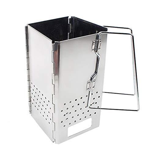 Draagbare compacte kubus houtskool schoorsteen Starter, 11.4