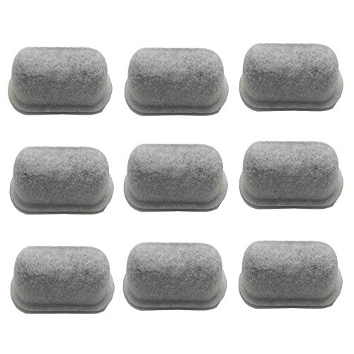 12-Pack of Cuisinart Compatible Replacement K&J Charcoal Water Filters for Coffee Makers - Fits all Cuisinart Coffee Makers-Activated Charcoal Water Purification Filters - For Cuisinart