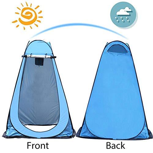 Lancei Duschzelt Camping - Toilettenzelt, Pop Up Duschzelt, Umkleidekabine Privatzelt Einfache Einrichtung Tragbare Außendusche Zelt Camp Toilette Regenschutz Für Camping Und Strand