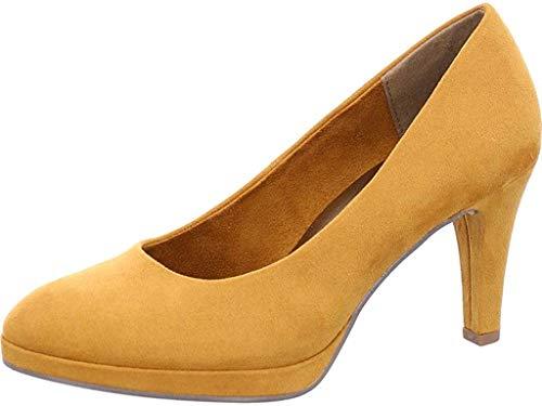 MARCO TOZZI Damen Pumps Woms Court Shoe 2-2-22428-33/606 606 gelb 702265
