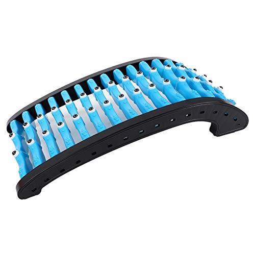 PBOHUZ Estiramiento de Espalda Imán arqueado Estiramiento de Espalda Masajeador Masajeador de Columna Cintura Alivio del Dolor Corporal