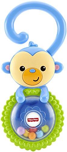Mattel Fisher-Price CGR93 - Babyspielzeug - Äffchen-Rassel