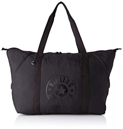Kipling Damen Art Packable Tornistertasche Schwarz (Black Light)