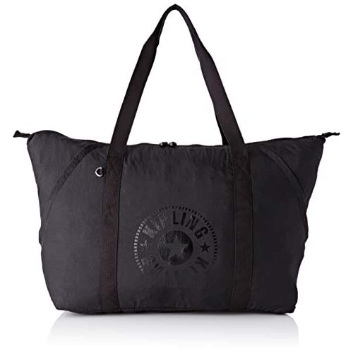Kipling Art Packable - Borse a secchiello Donna, Nero (Black Light), 57x37x18 cm (B x H T)