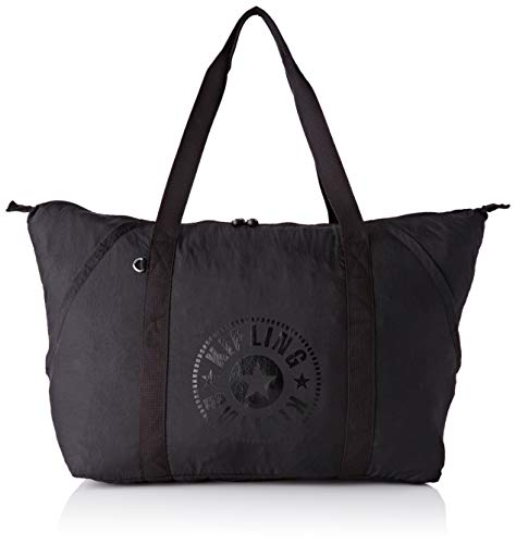 Kipling Art Packable, Women's Satchel, Black (Black Light), 57 x 37 x 18 cm (B x H T)