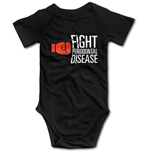 Promini Pelea Perio enfermedad bebé algodón manga corta en