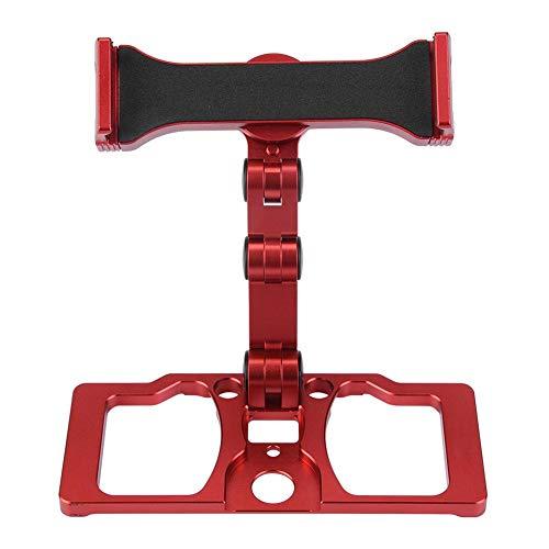 Dilwe Telefon-Tablet-Halter, Drone-Fernbedienung Telefon-Tablet-Halter Halterung für DJI Mavic 2 / Pro / Air / Funkenflug Drohne Quadcopter( Rot mit Halter für CrystalSky)