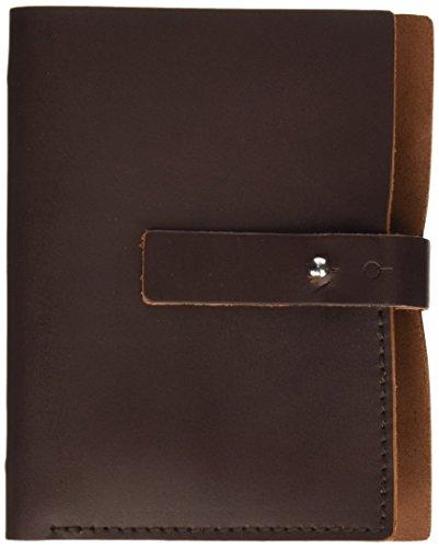 Makro Paper S5 - Agenda de piel pequeña, marrón oscuro