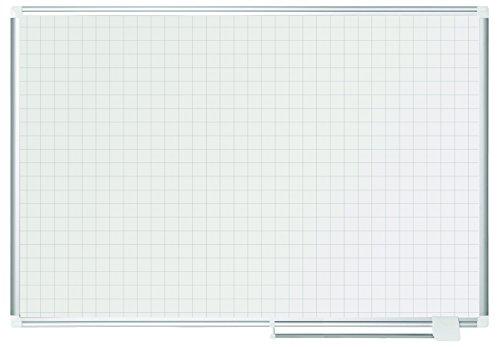 Bi-Office MA0547830 - Planner Lavagna Magnetica, 120 x 90 cm, Bianco