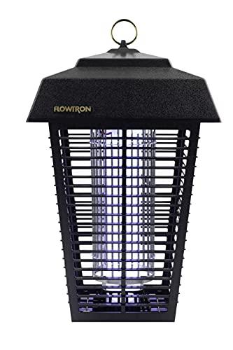 Flowtron BK-80D 80-Watt Electronic Insect Killer, 1-1/2 Acre Coverage , Black