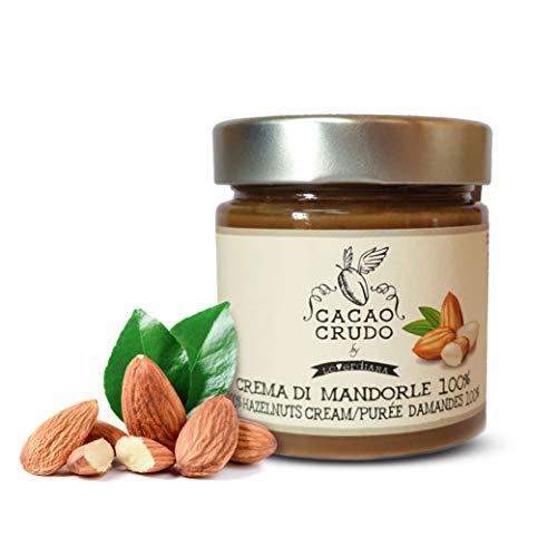 Cacao Crudo Crema alle Mandorle 100%, Cruda Bio, Spalmabile per Farcire Torte e Crostate, Ottenuta...