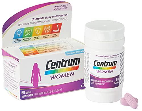 Centrum Women Multivitamin & Mineral Tablets, 24 essential nutrients...