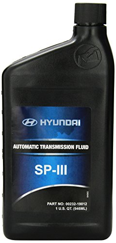 Genuine Hyundai Fluid 00232-19012 SP III Automatic Transmission Fluid - 1 Quart