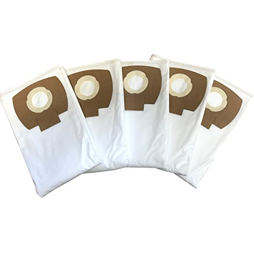 5 Bolsas de filtro para Kärcher Serie WD5 - WD 5 P / P Premium / Premium / Premium Renovation Kit alternativa a 2.863-006.0 bolsas de aspiradora de Microsafe