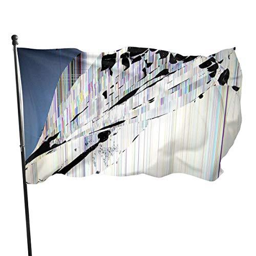 N/A USA Guard Vlag Banner Welkom Vlaggen Bloed Gebroken Scherm Yard voor Vakanties Patio Verjaardag Decoratie 3x5 Ft