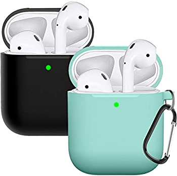 2-Pack Doboli AirPods Case Cover Silicone Protective Skin