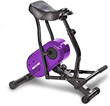 Daiwa Felicity Rodeo Core Compact Core Trainer Ab Workout Equipment for Leg Thighs Buttocks Calves Rodeo Core Exerciser (Purple)