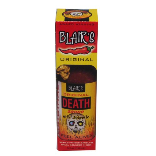 Blairs Blairs Original Death Scharfe Sauce mit Chipotle Chili - 1 x 148 ml