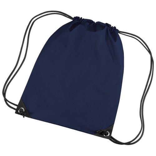 Bagbase - Sacca a Spalla per Palestra (11 Litri) (Taglia unica) (Blu navy)