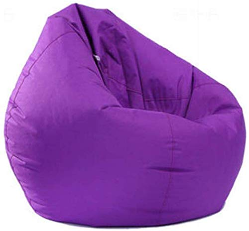 Eghunooye Sitzsackhülle Sitzsack Bezug Hülle Bean Bag Covers Ohne Füllung Sofa Schutzhülle für Kissen Plüschtiere (Lila)