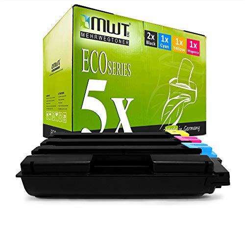 5X MWT Toner für Kyocera Ecosys ECOSYS P 6030 6130 CDN ersetzt TK5140 TK-5140