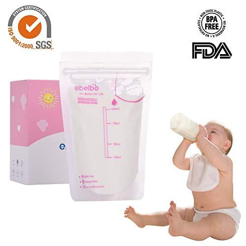 Max Strenght premium au lait maternel sacs de stockage